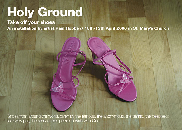 april 2006 holy ground flyer