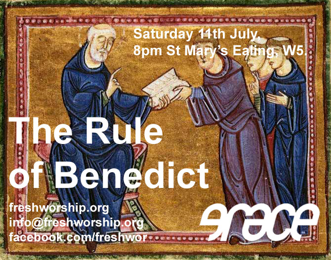 the rule of st benedict flyer