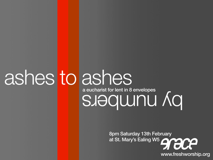 ashes to ashes by numbers flyer